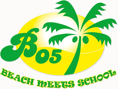 Beach meets School