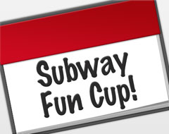 Subway Mixed 4er Fun Cup